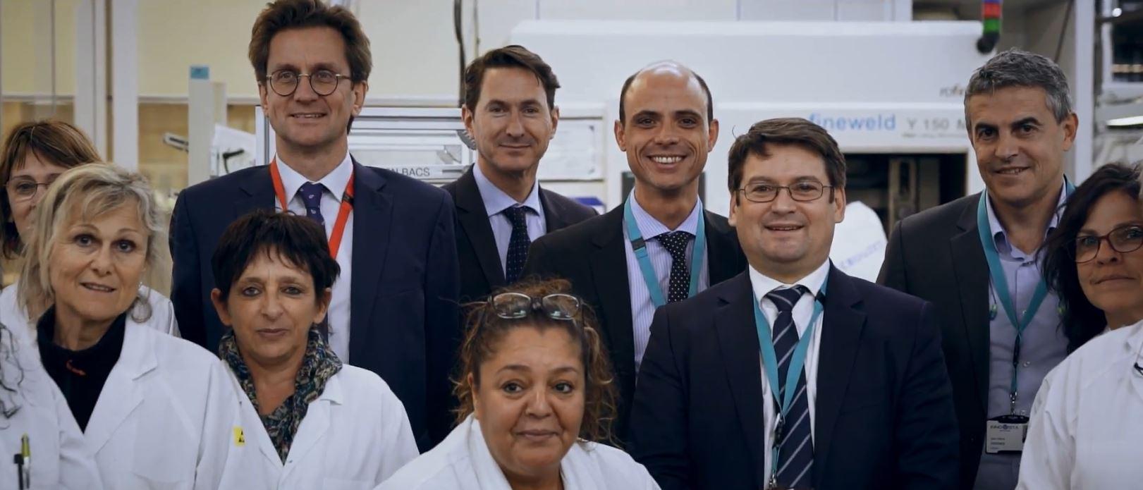 Boeing's visit to Crouzet