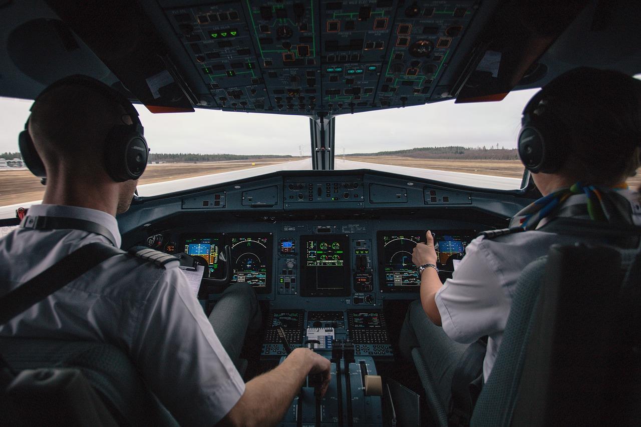 Cockpit Control Yoke