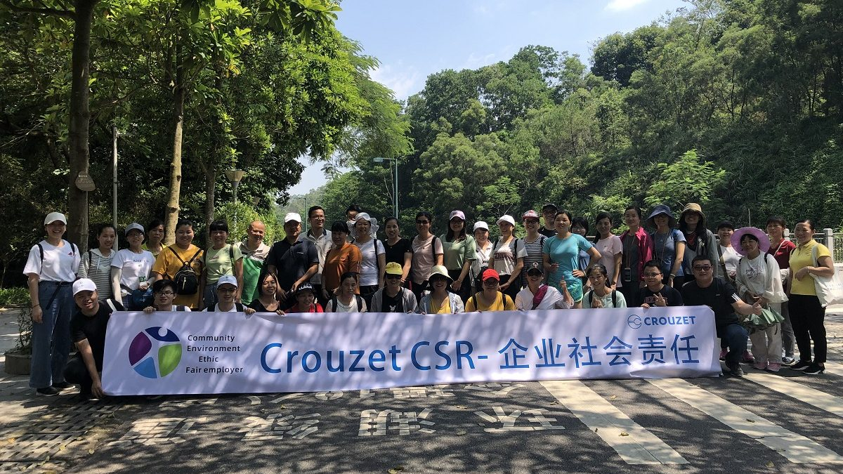 Huizhou hiking #CrouzetCleanUpWeek