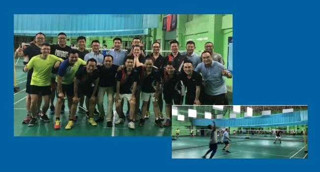Crouzet Huizhou badminton contest