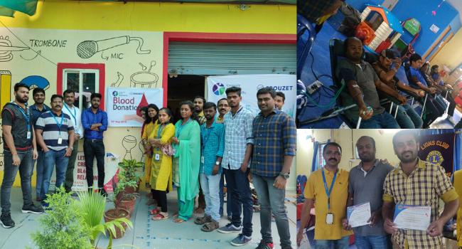 Crouzet India blood donation