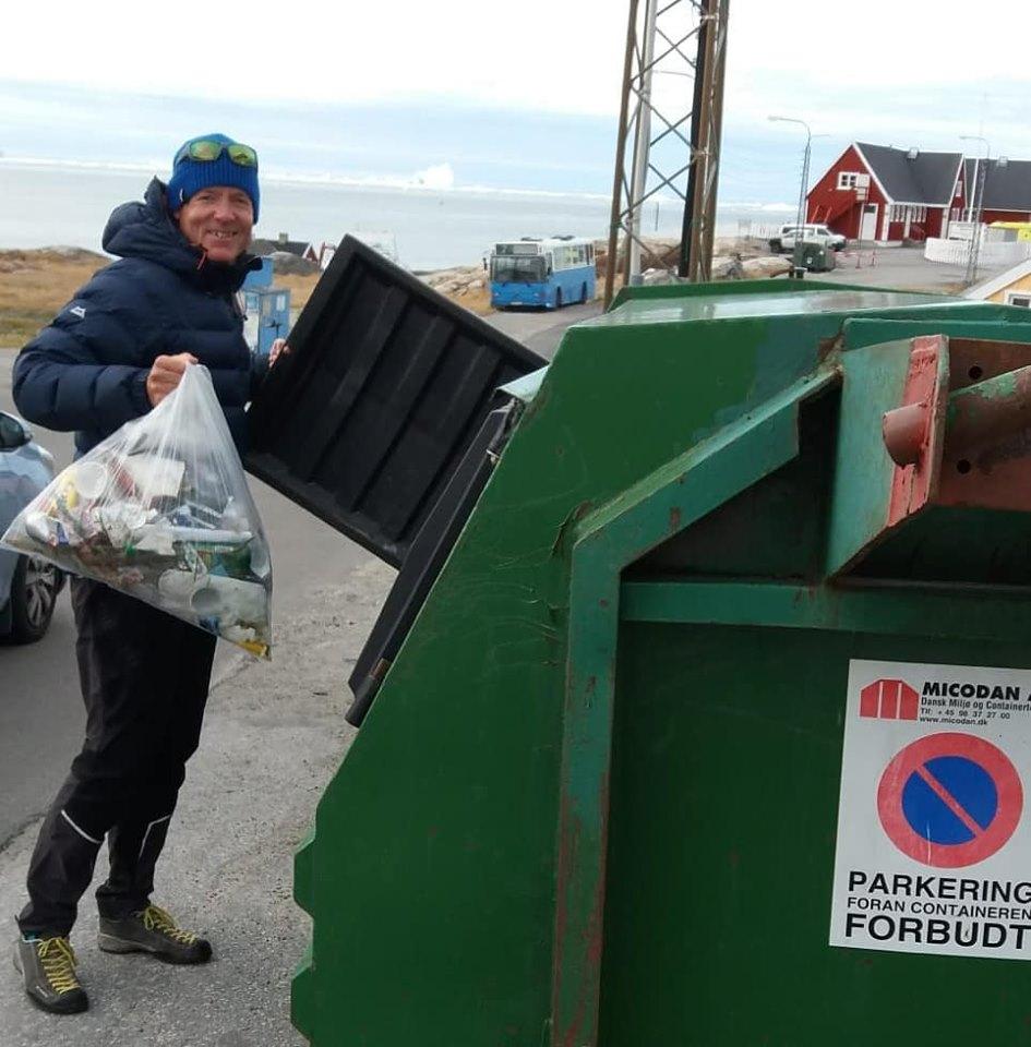 Crouzet Clean Up Week in Greenland