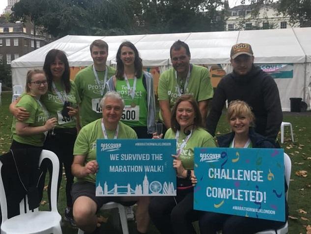 London marathon for Prospect Hospice