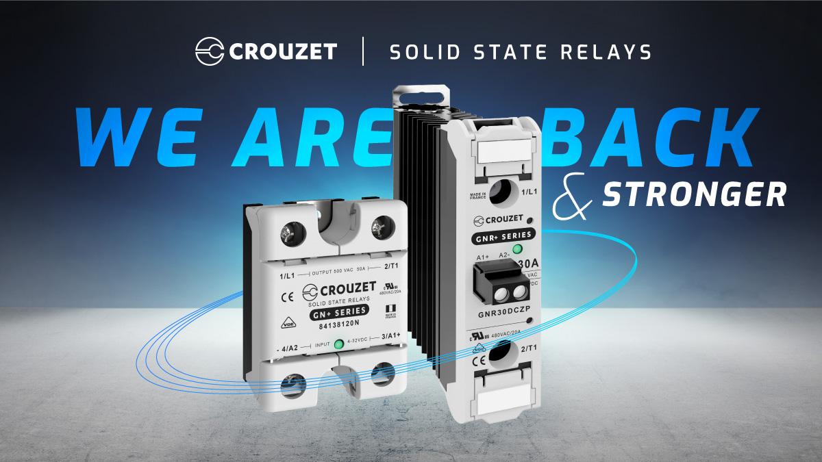 Crouzet SSR are back